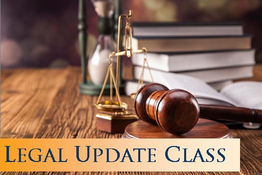 Legal Update Class